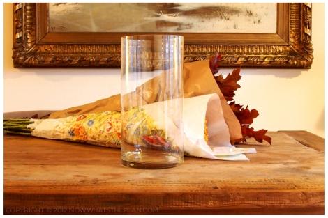 Fall foliage - get a vase