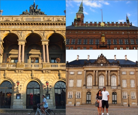 Copenhagen's impressive architecture
