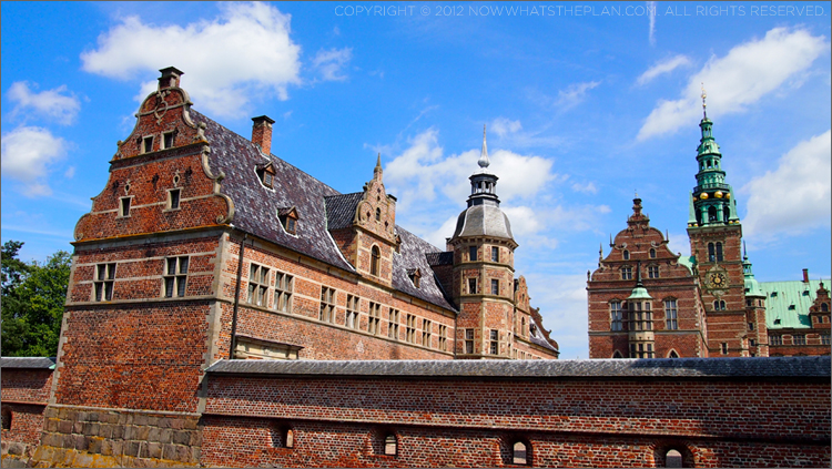 Frederiksborg Castle from the outside