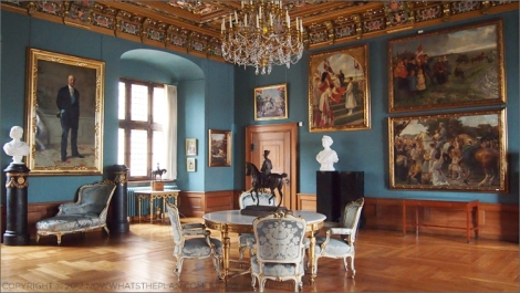 Frederiksborg Castle has majestic rooms