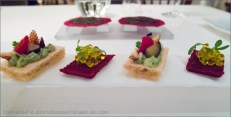 Enoteca de Paco Perez in Barcelona - Beautiful amuse-bouche