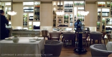 Enoteca's beautiful interior