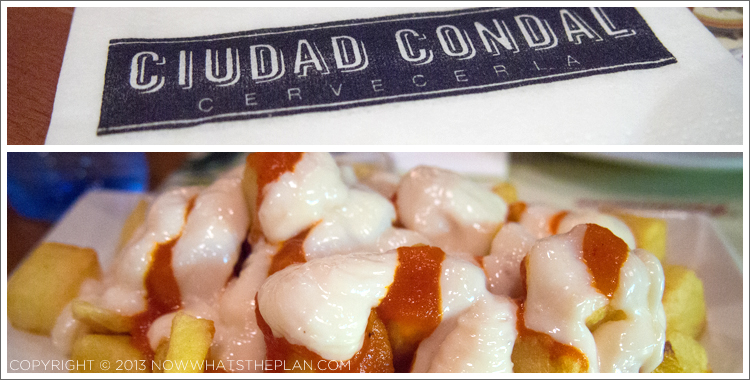 Ciudad Condal's patatas bravas
