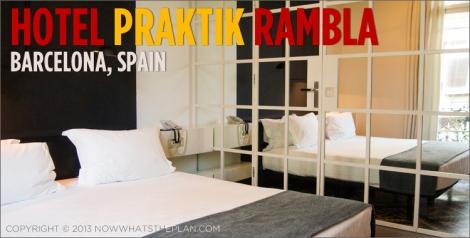 Hotel Praktik Rambla bedroom