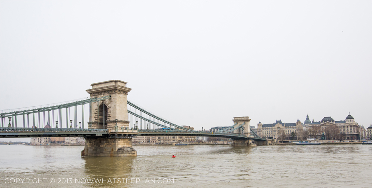 Chain bridge from Pest