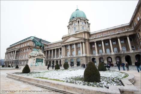 Buda Castle now the National Gallery