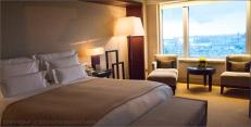 Hotel Arts Barcelona: Executive Suite bedroom