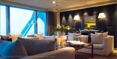 Hotel Arts Barcelona: El Club: The clubroom/lounge of Hotel Arts