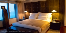 Hotel Arts Barcelona: One of the bedrooms in the Royal Suite