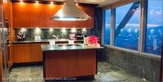 Hotel Arts Barcelona: The Royal Suite's kitchen