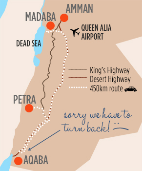 Petra to Aqaba to Dead Sea