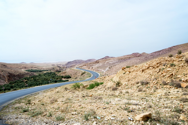 The road to Bethany-beyond-the-Jordan Jesus Christ's Baptism Site