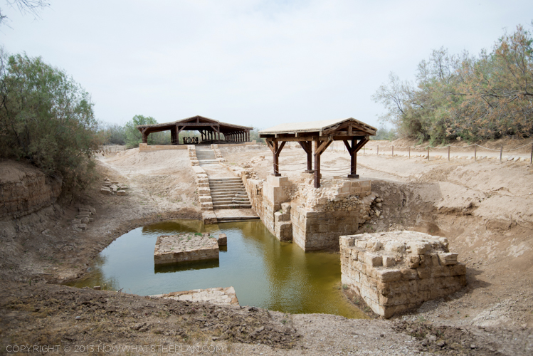Jesus Christ's Baptism Site at Bethany-Beyond-the-Jordan