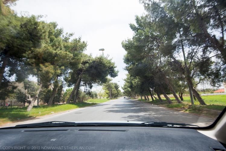 Driving in Jordan - Day 1 - Madaba to Petra
