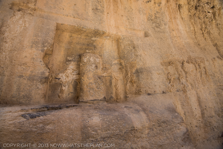 Rock-cut shrine for Nabatean gods - Siq