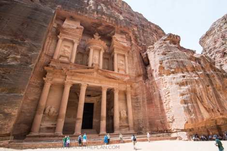 Jordan Journals Day 2: Treasures of Petra - al-Khazneh - Treasury