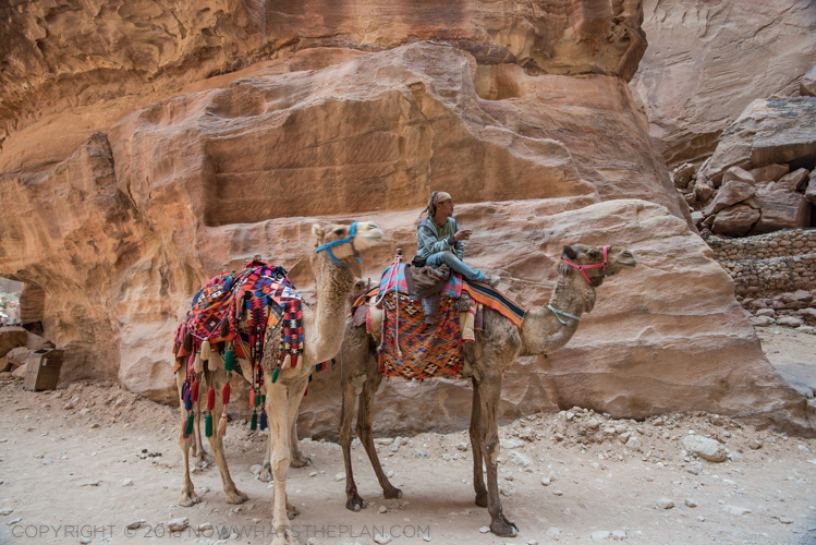 Jordan Journals Day 2: Treasures of Petra - Petra Valley
