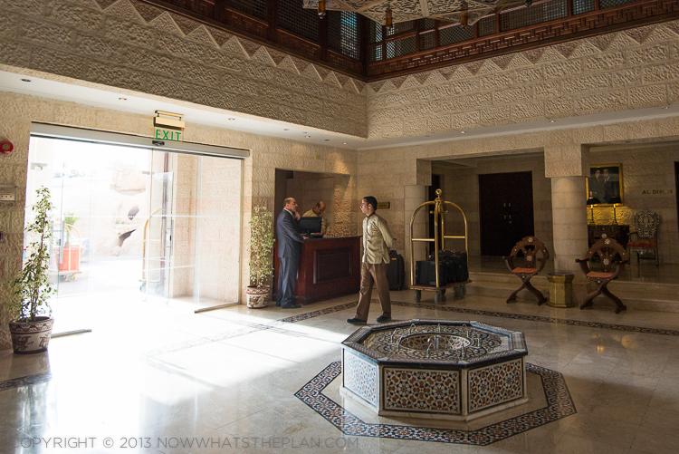 Movenpick Resort Petra lobby