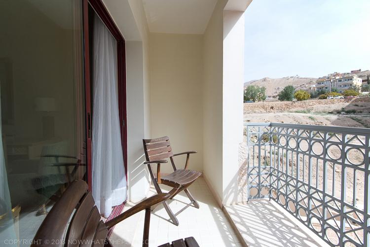 Private balcony Movenpick Resort Petra