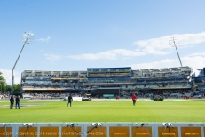 Sunny Edgbaston (which will turn to rainy and windy Edgbaston throughout the day)