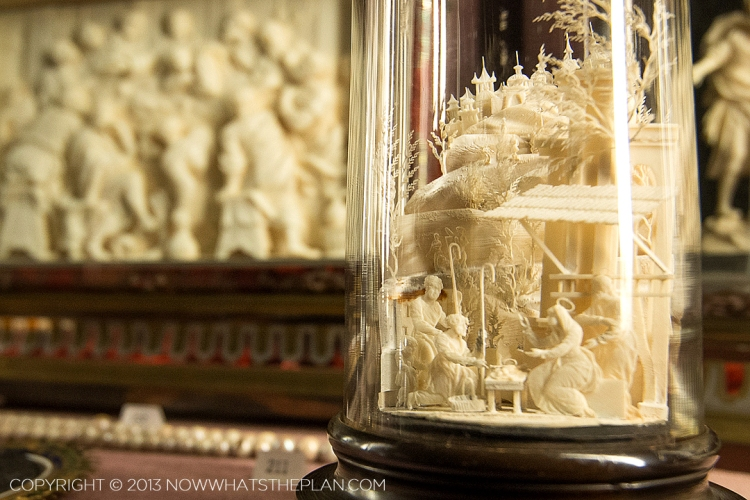 The Treasury: Miniature carved out of ivory