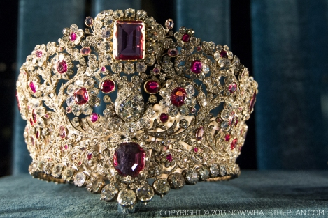 One of the hundreds of royal family jewels on display at The Treasury in Munich