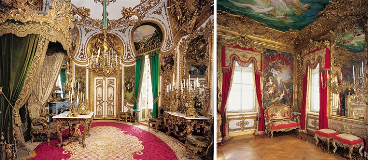 Audience Chamber and Tapestry Room (Photo credit: schlosslinderhof.de)