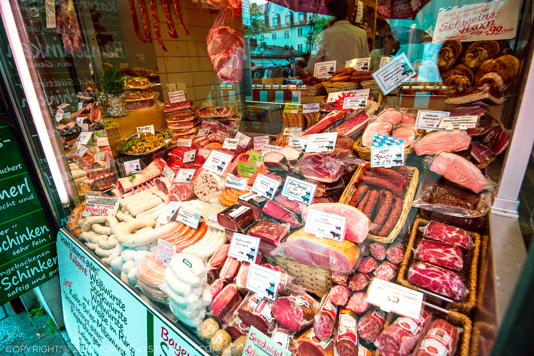 Munich's ubiquitous meat windows