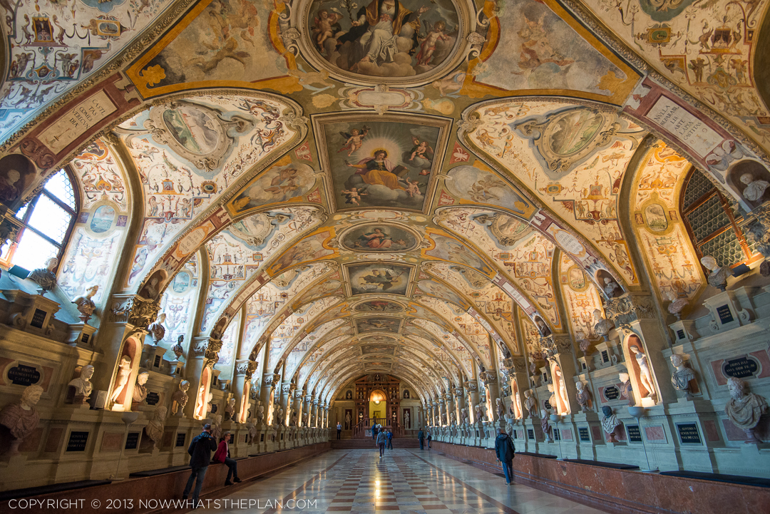 Now Whats The Plan Inside Munich Residenz Palace