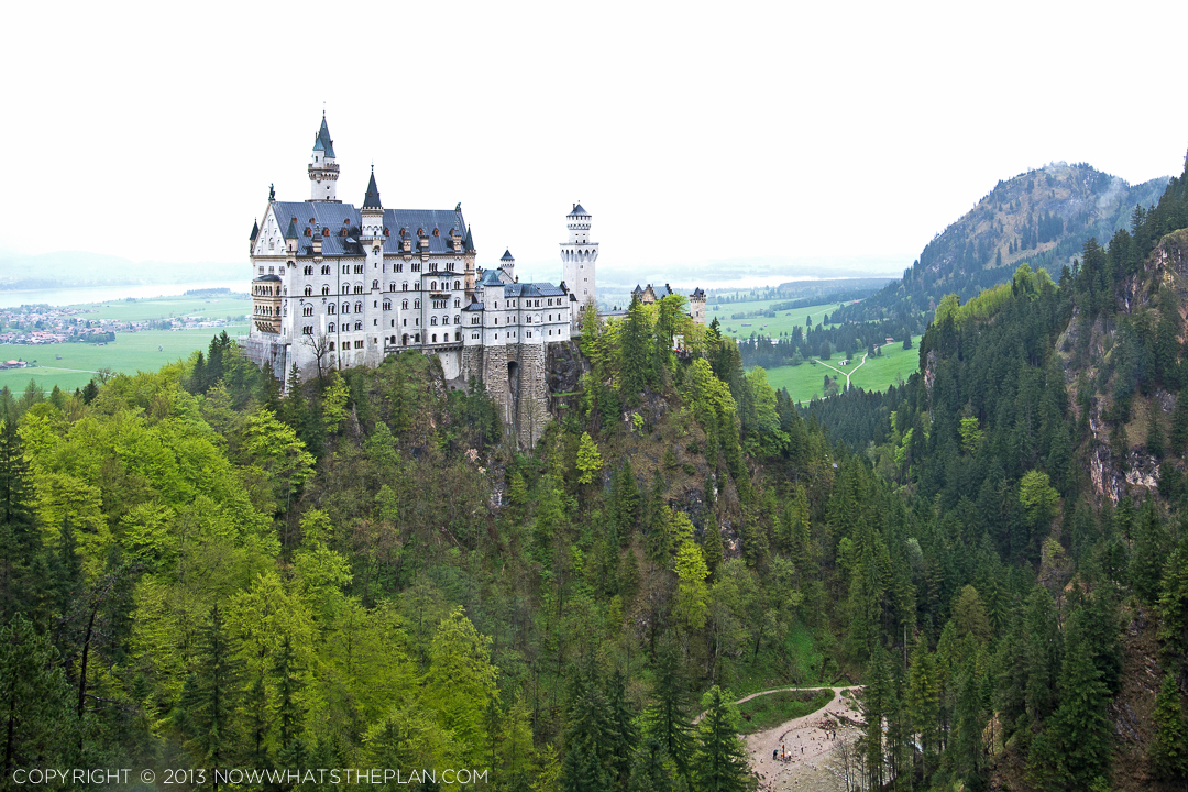 The breathtaking view of Neuschwanstein Castle - stuff dreams are made of.